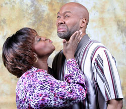Alltrinna Grayson and Palmer Williams Jr.