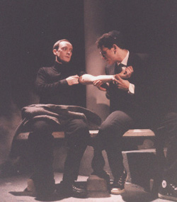 A production photo from the Gallery Players'1998 production of Angels in America