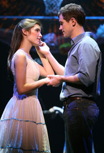 Josefina Scaglione and Matt Cavenaugh