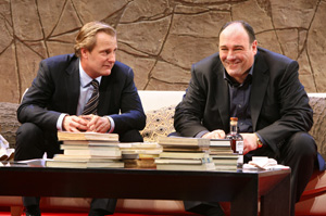 Jeff Daniels and James Gandolfini in God of Carnage