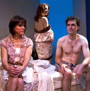 Sarah Knapp, Kathleen McElfresh, and Tommy Schrider
