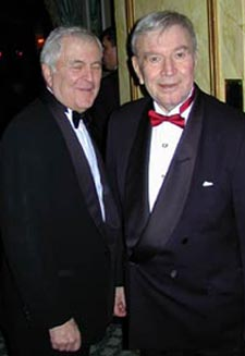 Fred Ebb, right, with John Kander
