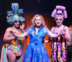 Oliver Thornton, Tony Sheldon, and Jason Donovan