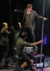 Hunter Foster and company in Happiness