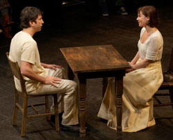 David Schwimmer and Laura Eason in Our Town