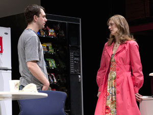 Thomas Sadoski and Marin Ireland in reasons to be pretty