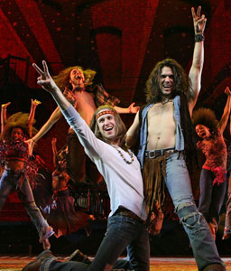 Gavin Creel and Will Swenson in Hair