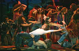 The Broadway company of Hair
