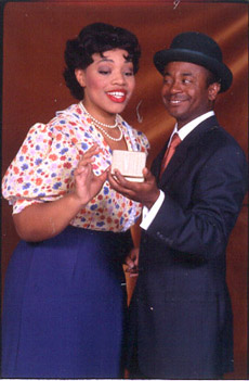 Carmen Ruby Floyd and André Garnerin Little Ham(Photo Credit: Carol Rosegg)