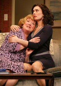 Kristine Nielsen and Laura Benanti