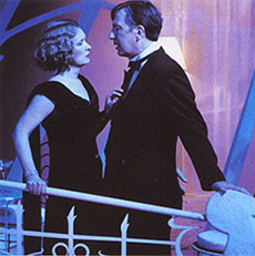 Lindsay Duncan and Alan Rickmanin Private Lives