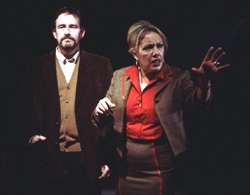 Daniel Ahearn and Maria O'Brien in Mrs. Feuerstein