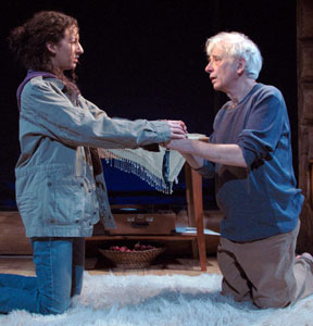 Kristina Valada-Viars and Austin Pendleton in Love Drunk