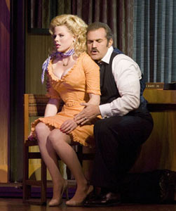 Megan Hilty and Marc Kudisch in 9 to 5
