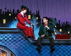 Scarlett Strallen and Adam Fiorentino