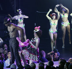Norm Lewis and company in
