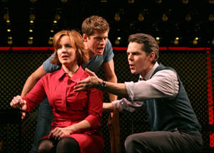 Alice Ripley, Aaron Tveit, and J. Robert Spencer