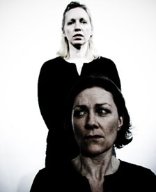 Nanna Ingvarsson and Jennifer Mendenhall