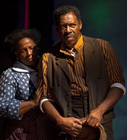 LaTanya Richardson Jackson and Ernie Hudson