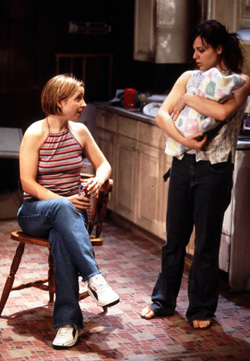 Alicia Goranson and Cara Buono