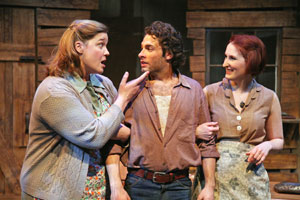 Carol Hickey, Mark Modzingo, and Victoria Huston-Elem