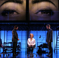 Louis Hobson, Alice Ripley, and J. Robert Spencer in Next to Normal (© Joan Marcus)