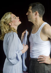 Marin Mazzie and Christopher Innvar