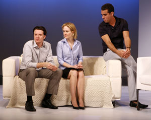 Jason Butler Harner, Sarah Paulson and Bobby Cannavale