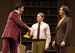 Jonathan Cake, Matthew Broderick, and Steven Weber