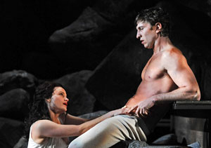 Carla Gugino and Pablo Schreiber in Desire Under the Elms