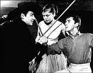 Jerry Orbach, Rita Gardner,and Kenneth Nelsonin The Fantasticks