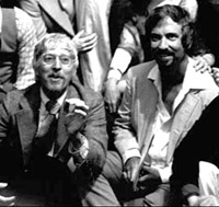 Authors Tom Jones and Harvey Schmidtin a 1980 audience discussion