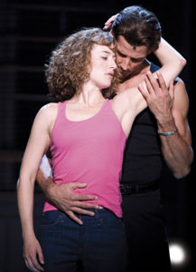 Amanda Leigh Cobb and Josef Brown