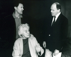 Charles D. Cissel (l), James Stevenson, andJacqueline Brookes in I Never Sang for My Father(Photo: Martha Holmes)