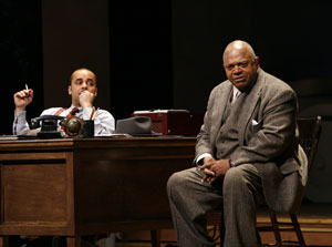 Howard W. Overshown and Charles S. Dutton