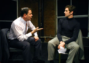 Thomas Jay Ryan and Michael Urie in The Temperamentals