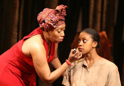 Saidah Arrika Ekulona and Condola Rashad