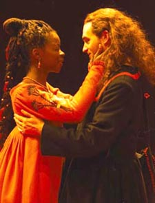 Erica Tazel and Michael Stuhlbarg in Cymbeline(Photo: Manuel Harlan)