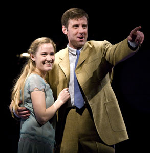 Betsy Morgan and Lewis Cleale in Giant