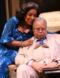 Phylicia Rashad and James Earl Jones