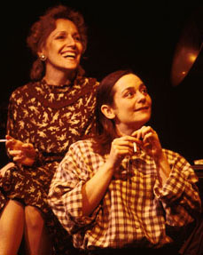 Barbara eda-Young and Jenny Bacon inCarson McCullers (Historically Inaccurate)(Photo: Joan Marcus)
