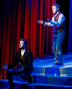 Eric McCormack and Lucas Grabeel