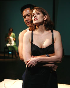 Joel de la Fuente and Juliana Francis-Kelly