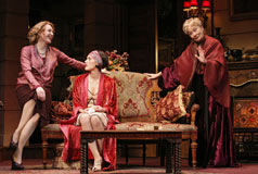 Jan Maxwell, Kelli Barrett, and Rosemary Harris