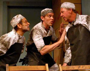 John Shuman, Jay Stratton, and Tim Donoghue