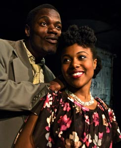 Stephen Tyrone Williams and DeWanda Wise