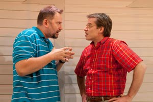 Brian Dykstra and Mark Boyett in A Play on Words