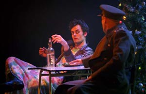 Gisli Orn Gardarsson and Dave Mynne in Don John
