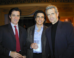 Roger Rees, Peter Gallagher, and James Naughton(Photo: Michael Portantiere)