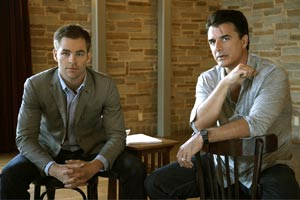 Chris Pine and Chris Noth star in Farragut North